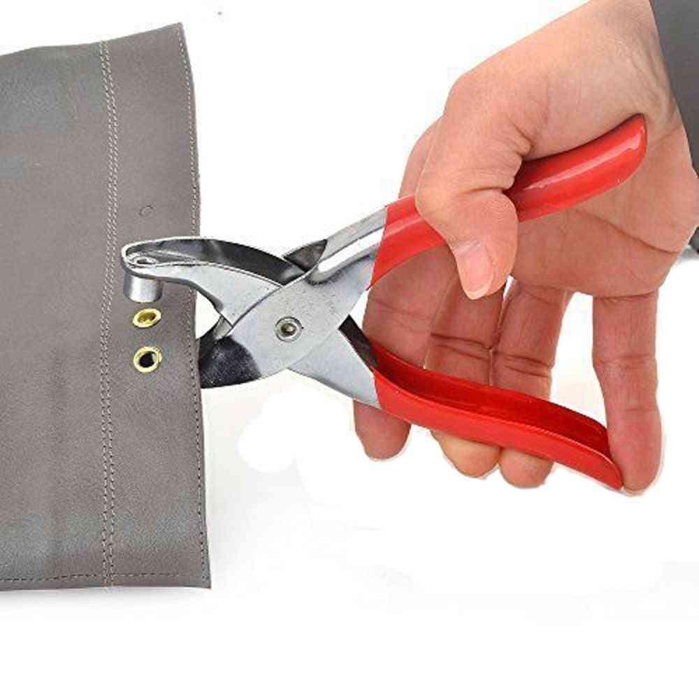 Grommet Button, Eyelet Setting Cloth, Shoe Bag- Leather Belt, Household Plier