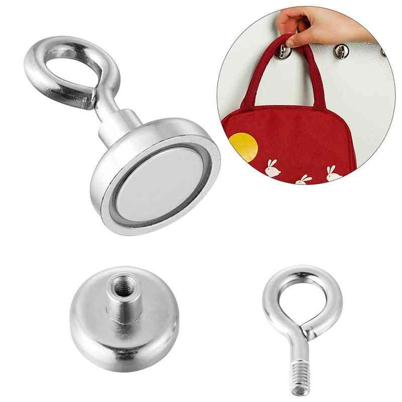 Super Strong, Magnetic Neodymium, Salvage Fishing, Magnet Hook