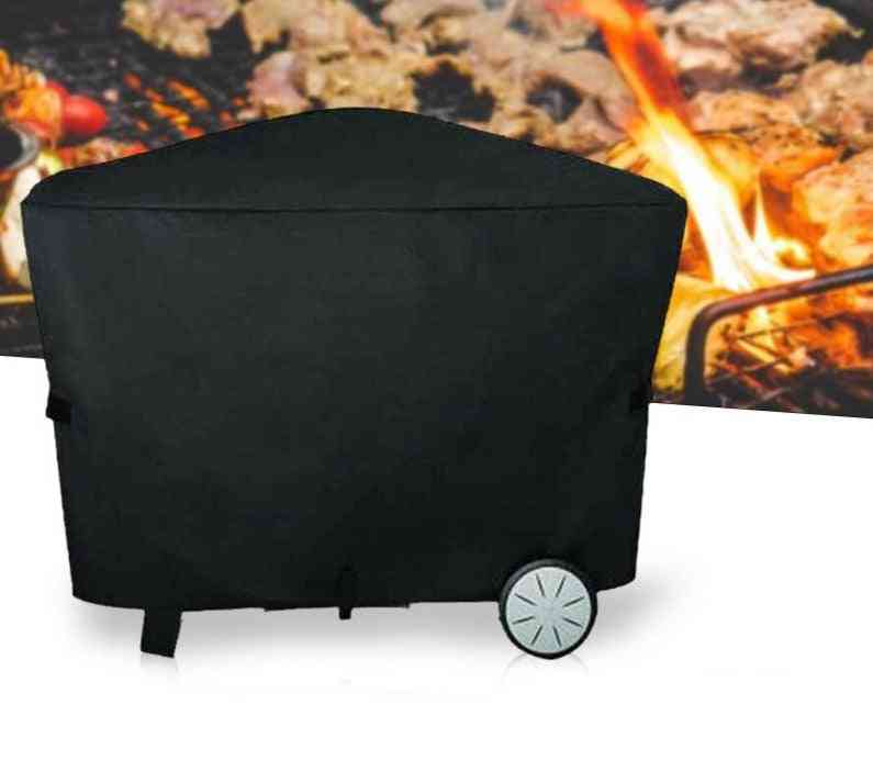 Bbq Grill Cover For Weber Q2000 Q3000 Outdoor Barbecue Accessories Dustproof Waterproof Rain Protective (112.4x64.1x95.6cm)