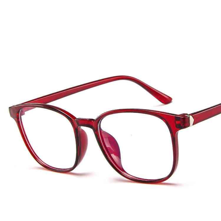 Glasses  Fashion Eyeglasses Anti-transparent Plastic Frame