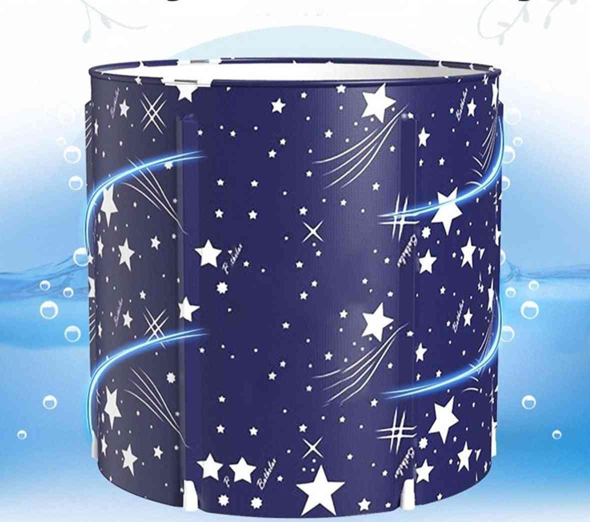 Portable Bathtub Folding Bath Bucket