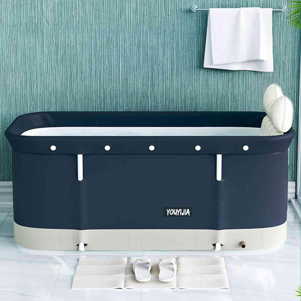 Portable Folding Bucket Bathtub Set