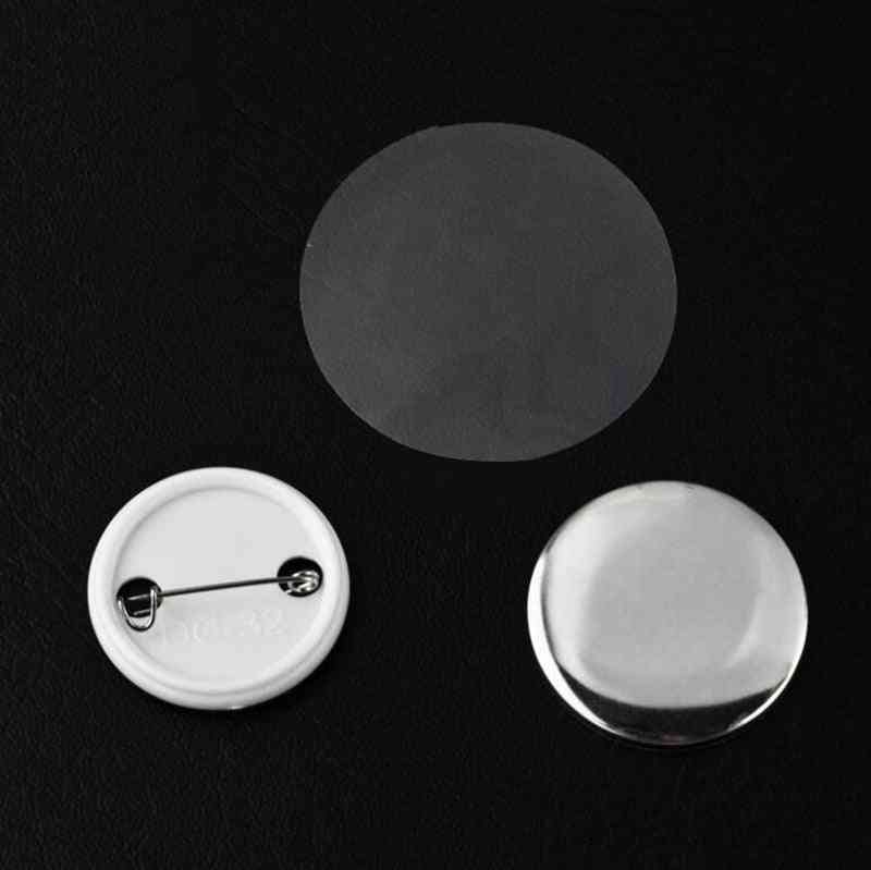 Tinplate Consumables Badge, Buttons & Snaps