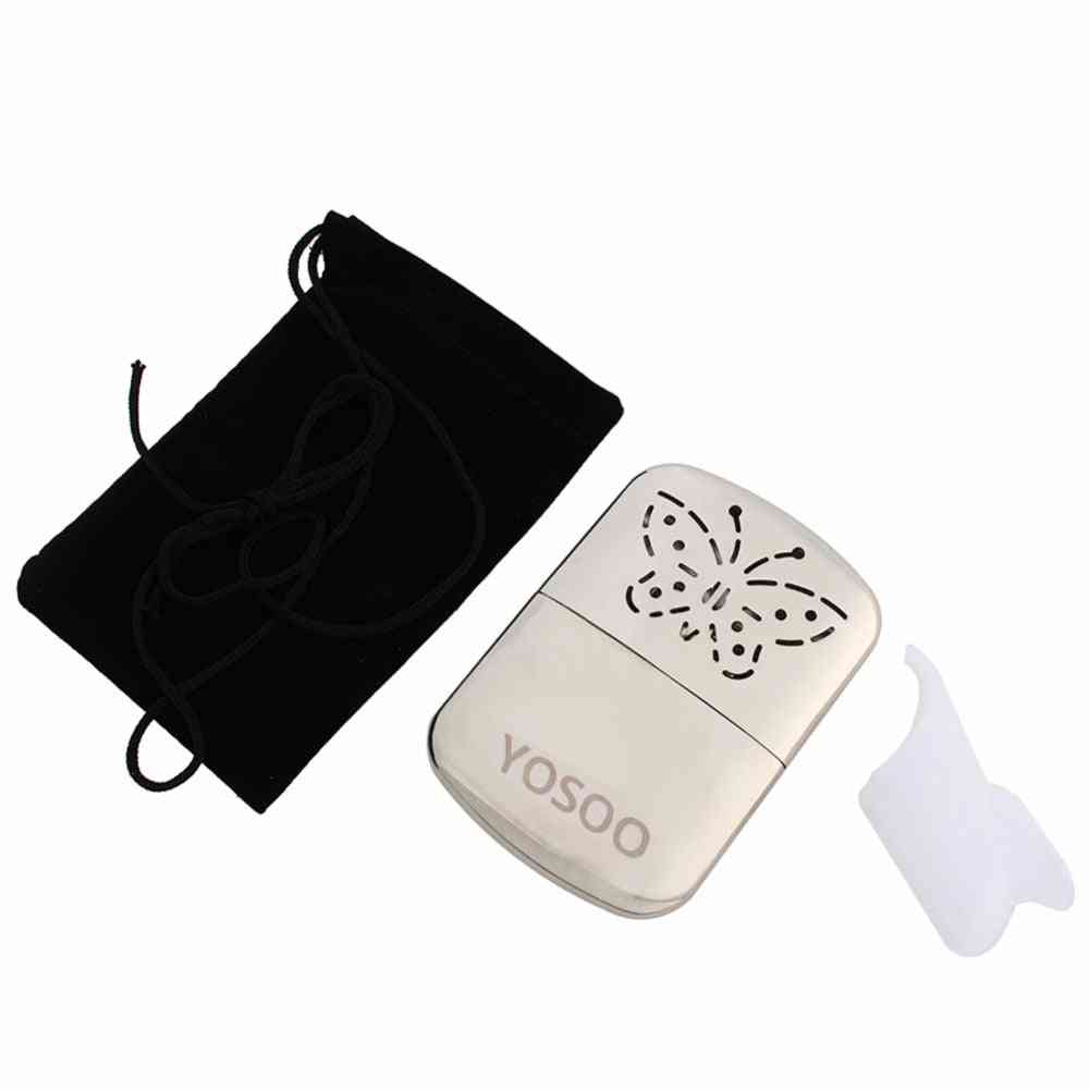 Portable Pocket Hand Warmer Reusable Butterfly Fuel Hand