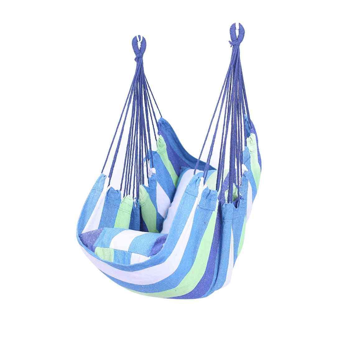Garden Hang Chair Swinging Indoor & Outdoor Furniture Hammock Hanging Rope Swing Seat