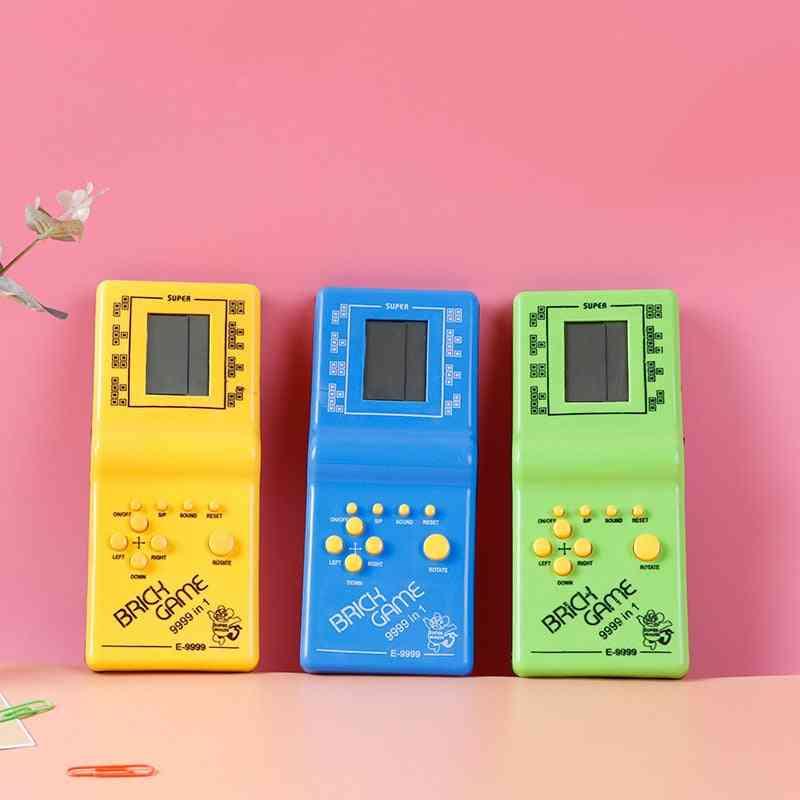 Hand Held Game Player, Lcd Electronic Pocket