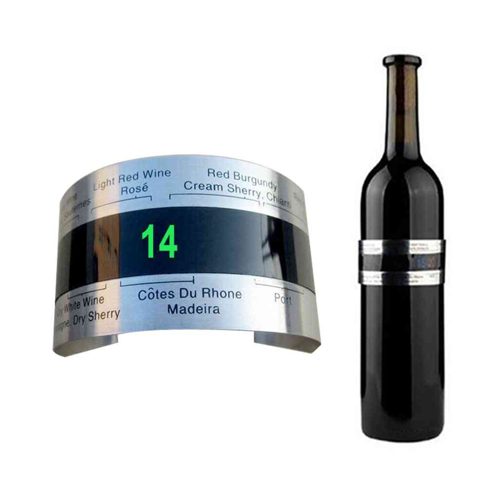 Bar Beverage, Clever Wine Bottle Snap, Thermometer Lcd Display, Clip Champagne Tool