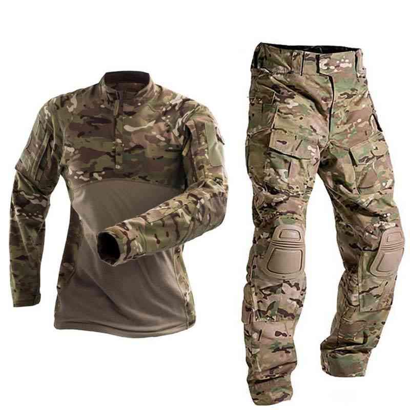 Tactical Combat Shirt Hunting Pants
