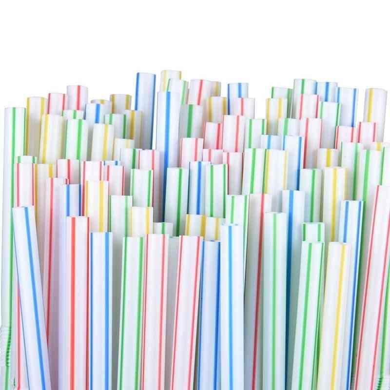 Disposable Flexible Plastic Straws, Bar Accessories