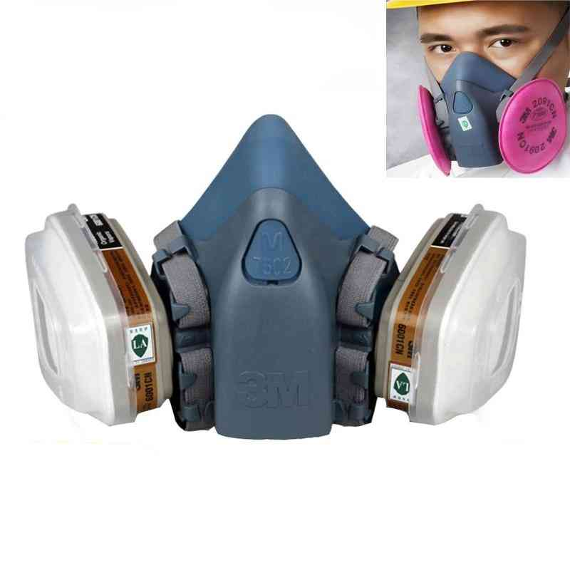 Painting Spraying Chemcial Safety Work Gas Mask