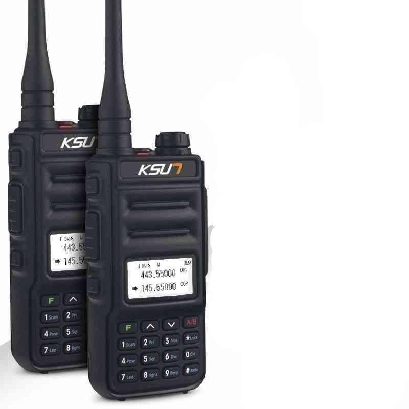 Dual-band, Walkie-talkie Radio