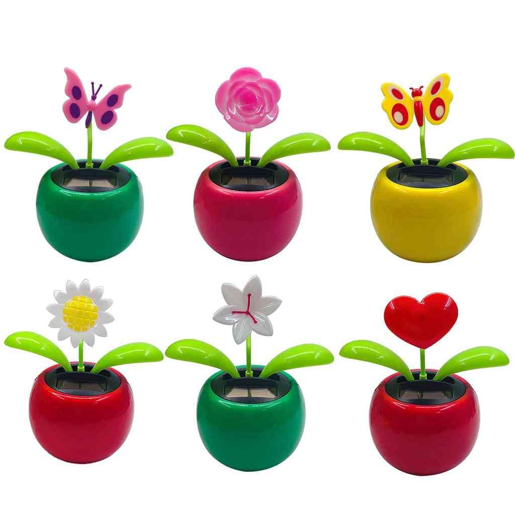 Mini Solar Power, Swing Dancing, Flower Pot