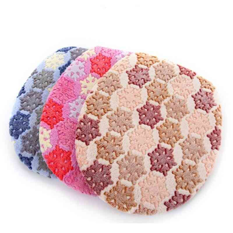Two-pieces Warm, O-shape With Zipper, Toilet Cover Seat