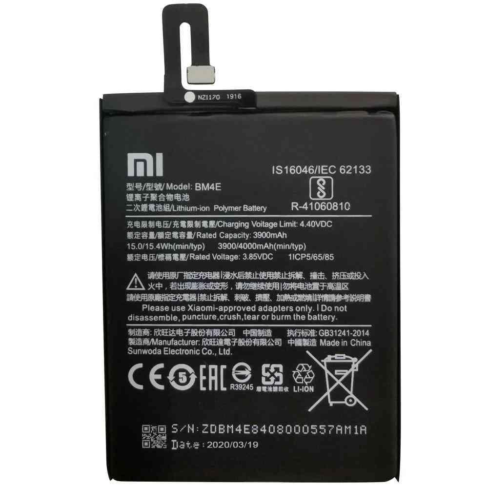 Original Replacement Battery Bm4e For Xiaomi