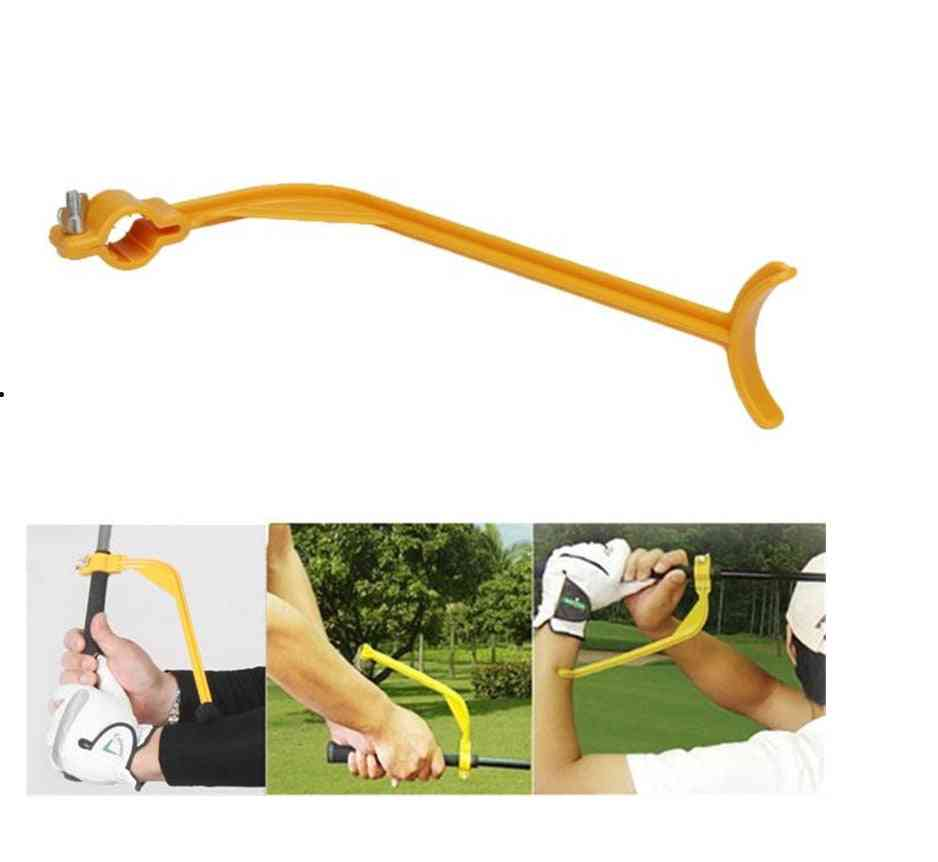 Golf Training Aids, Swing Guide Training, Trainer For Wrist Arm Corrector Control Gesture