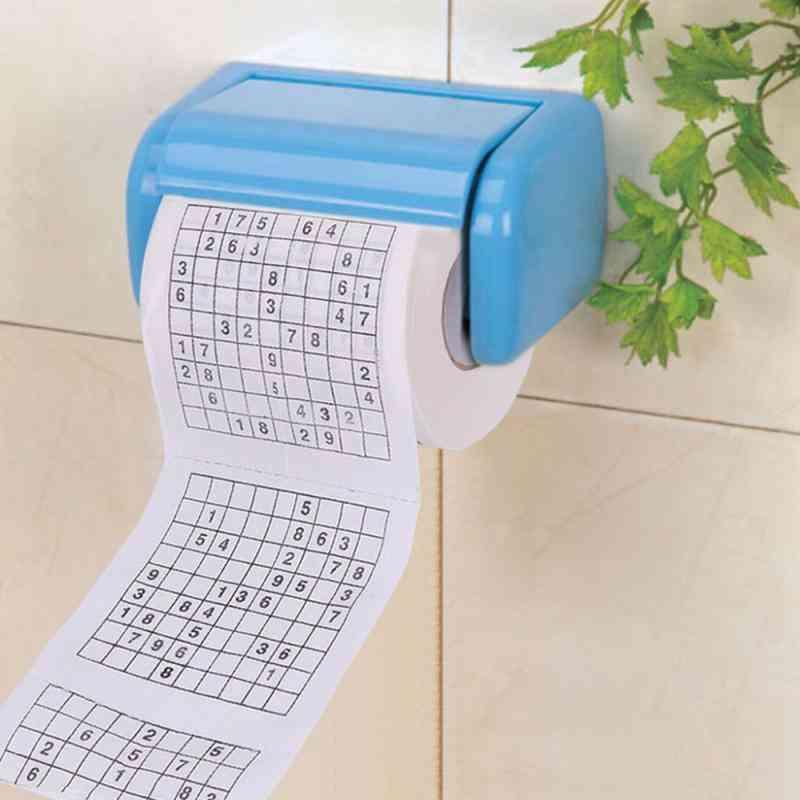 Bathroom Soft Toilet Tissue Paper (black)