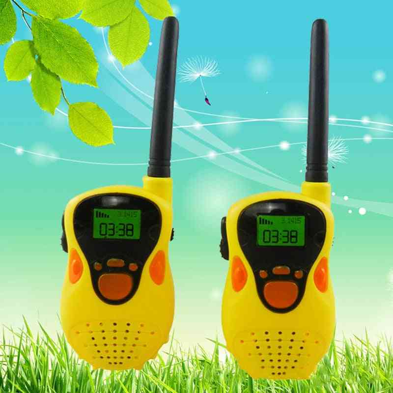 Mini Portable- Handheld Radio, Outdoor Interphone, Walkie Talkies Toy For