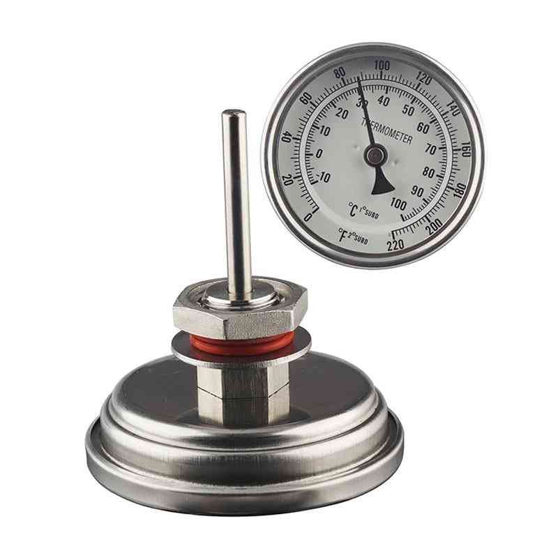 Home Brew, Wine Making, Bi-metal Thermometer Probe