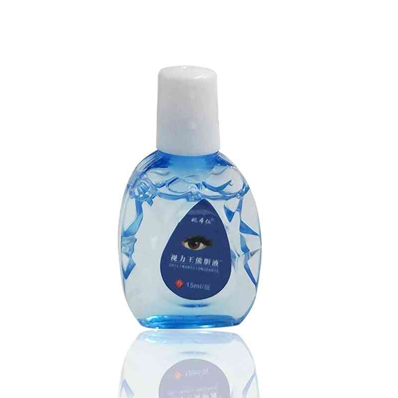 Cool Eye Drops Cleanning, Eyes Relieves, Discomfort, Removal Fatigue, Relax Massage