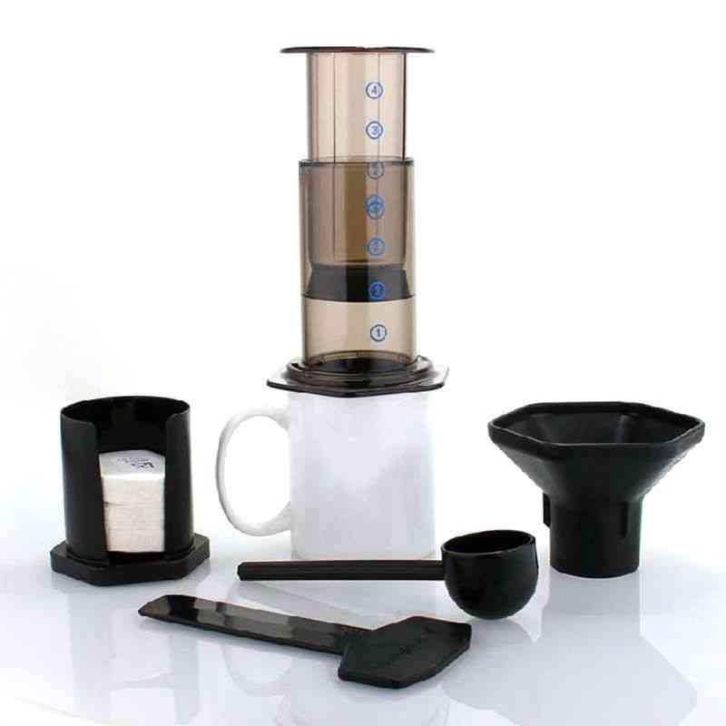 Filter Glass Espresso Coffee Maker