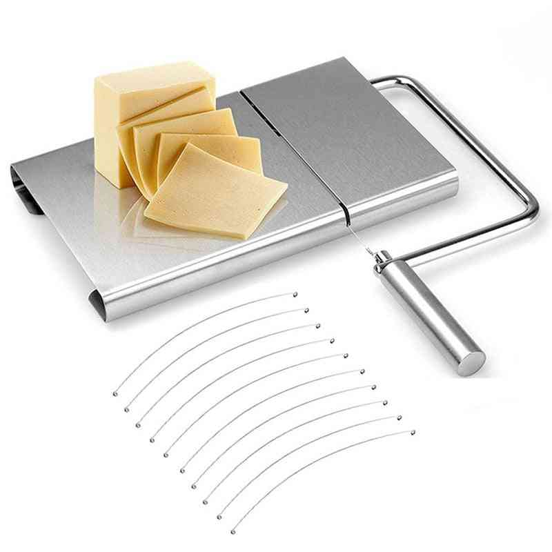 Cheese Slicer, Cutting Serving Board For Cheese Or Butter