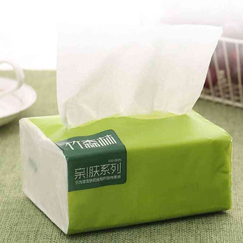 Household Napkin Pumping Paper Toilet Paper Kitchen Cleaning Paper Towel Native Bamboo Pulp Thicken Tissue Paper