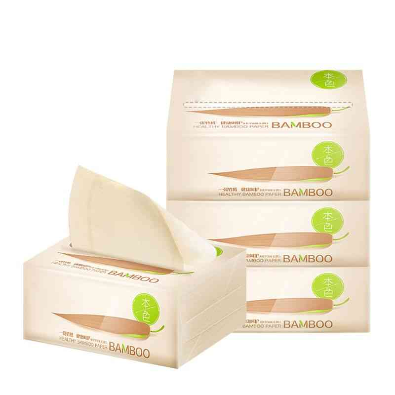 3 Bags 3-layers Extractable Toilet Paper Soft Wood Pulp Pumping Tissue Napkin