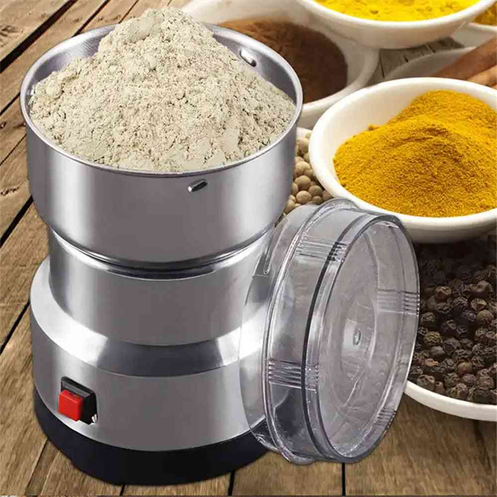 Electric Coffee Grinder, Kitchen Cereals, Nuts, Beans, Spices, Grains Grinding Machine