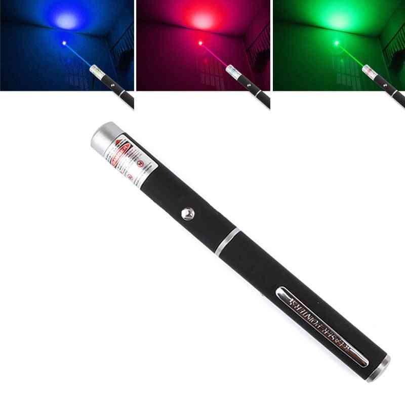 High Power Green Blue Red Dot Laser Pen