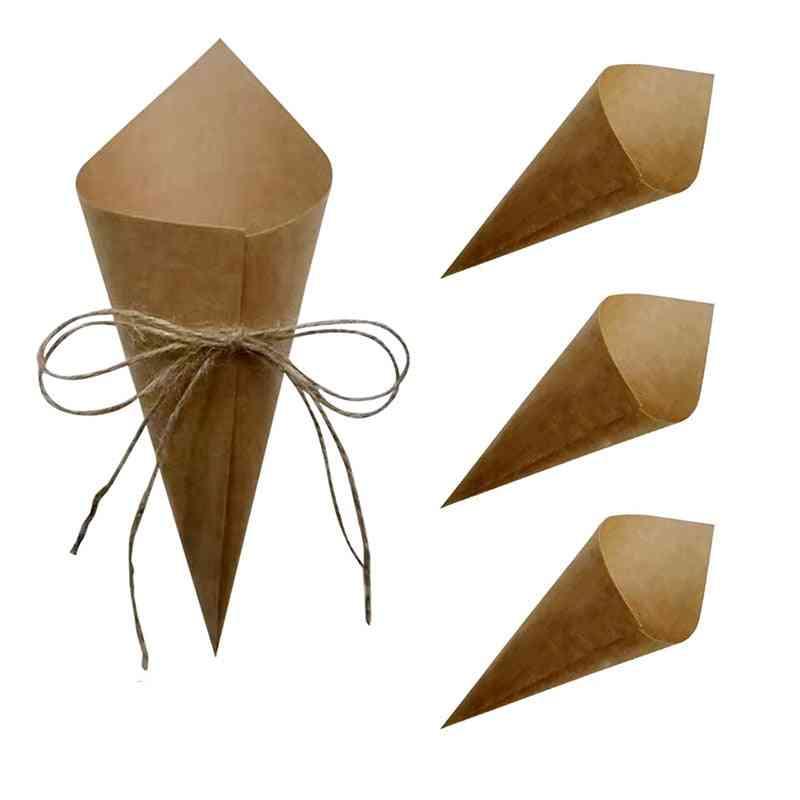 Custom Wedding Confetti Kraft Paper