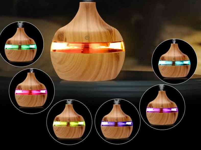 Electric Humidifier Essential Aroma Oil Diffuser