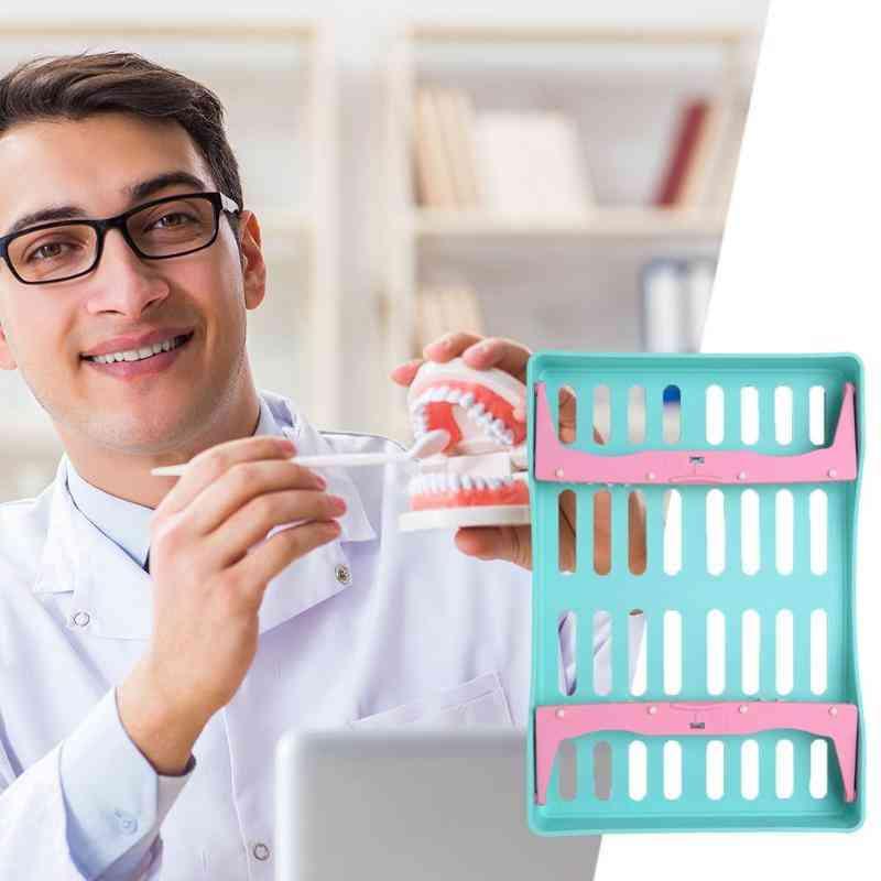 Multifunction Dental Plastic Sterilization Rack, Surgical Instrument Disinfection Box