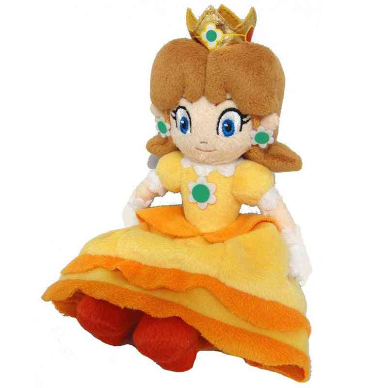 Lovely Plush Toy, Super Mario Princess Daisy Plush Doll Toy (yellow 20cm)