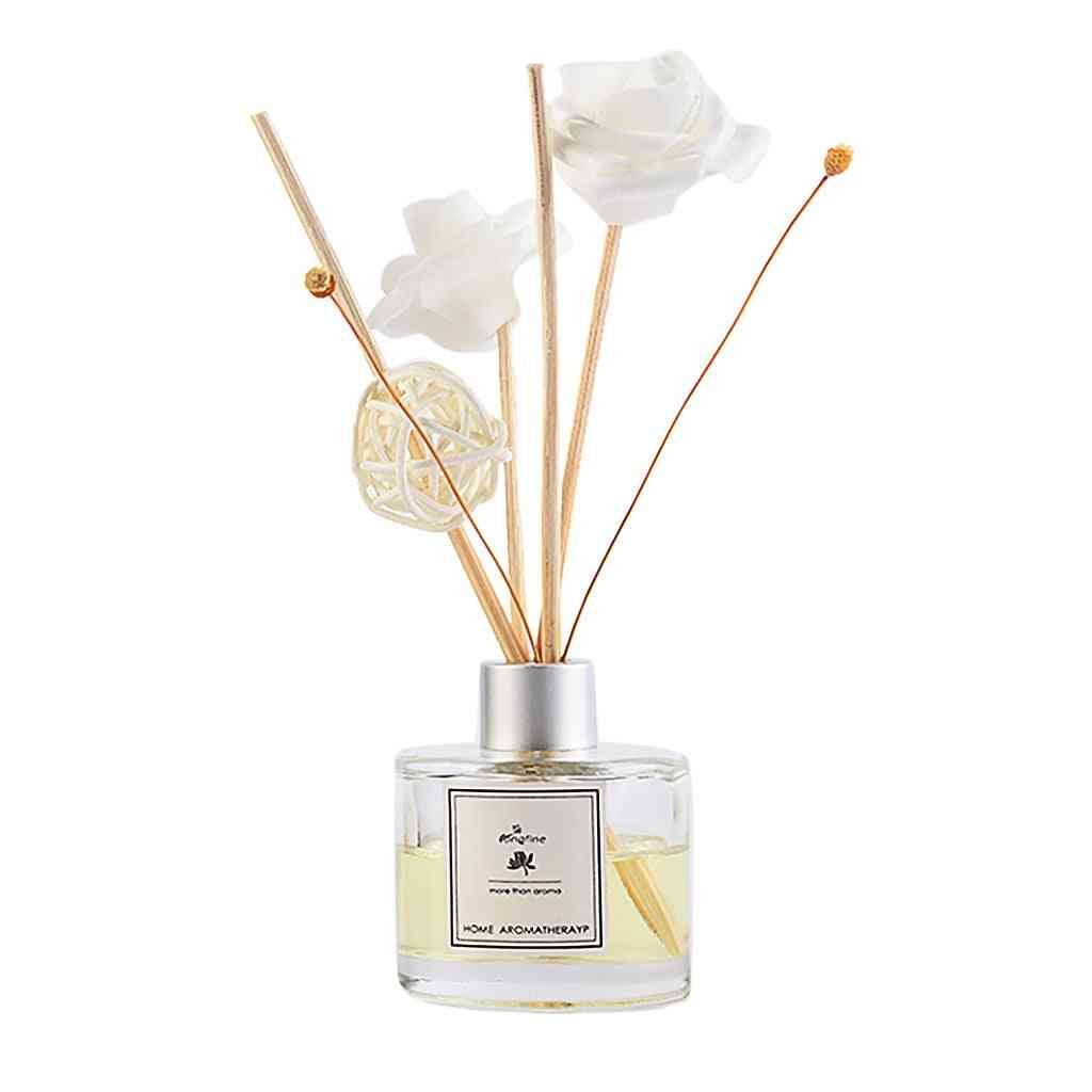 50ml- Reed Diffuser Sets With Natural Sticks, Glass Bottle And Scented Oil Perfume Set