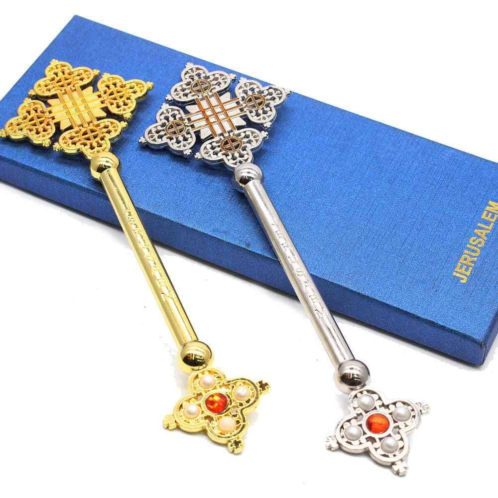 Ornaments Jerusalem Cross Decor