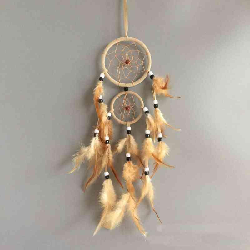 Dream Catcher Circular Feathers