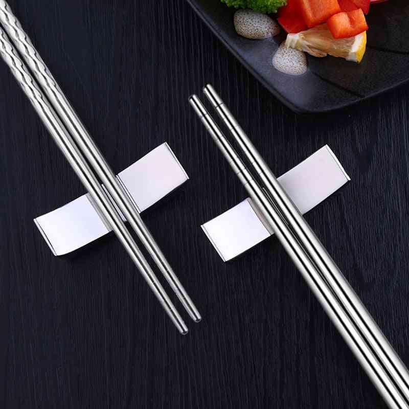 Stainless Steel- Chinese Stylish, Healthy Light Weight, Chopsticks