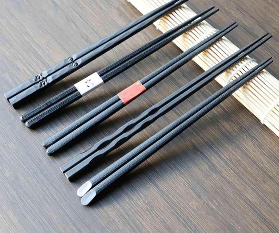 Non-slip Food Sticks, Reusable Tableware Chopsticks