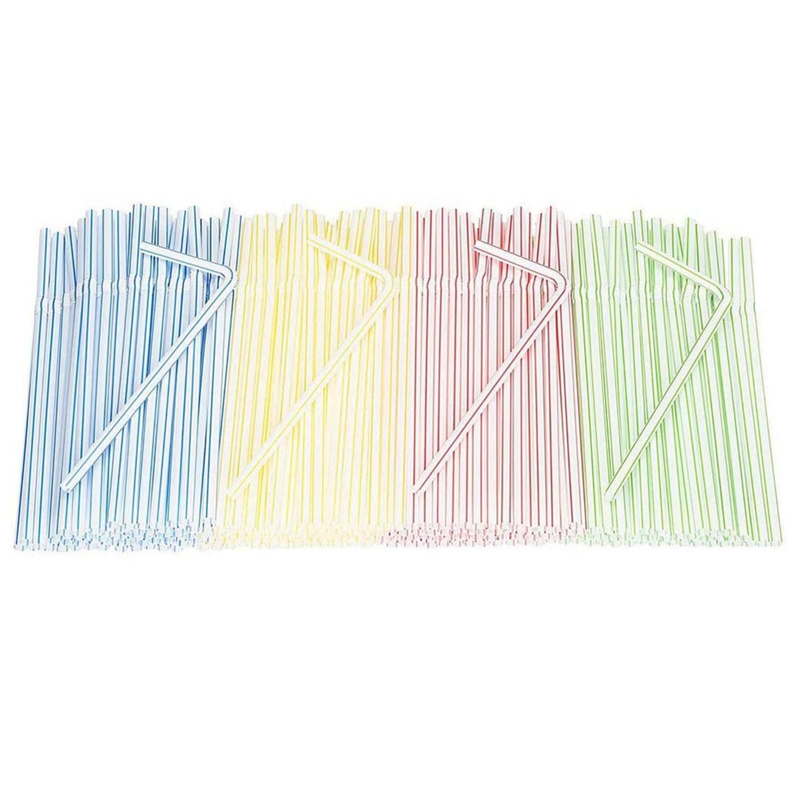Disposable Plastic Drinking Straws