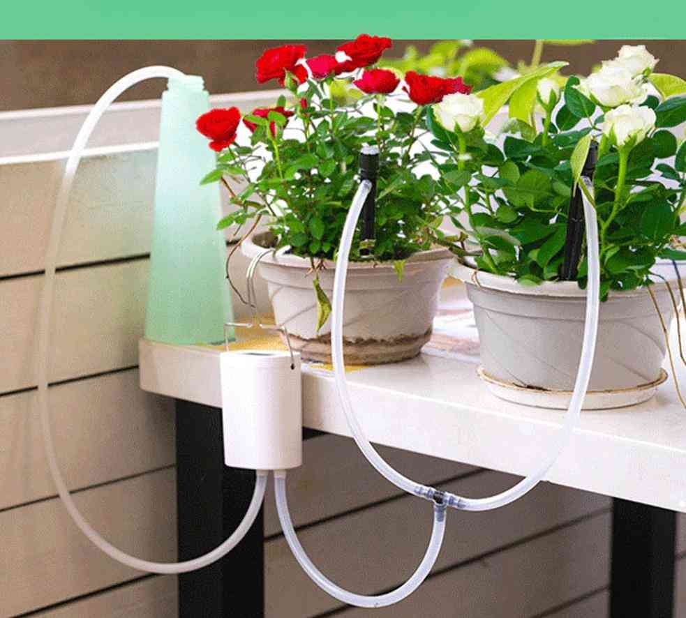 Intelligent Garden Automatic Watering Pump Controller