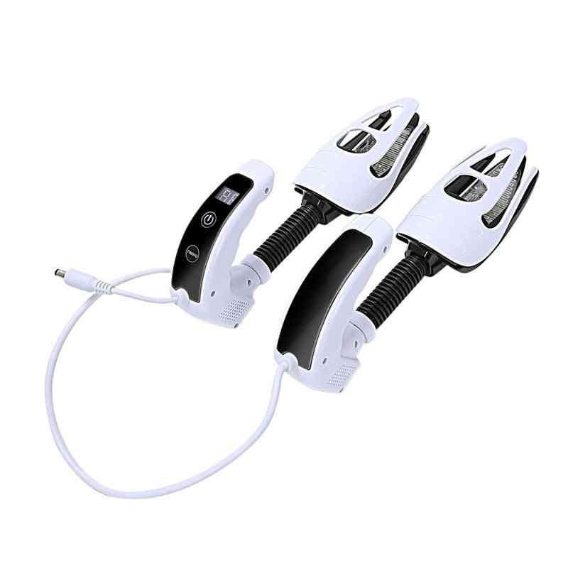 Electric Shoes Dryer, Sterilization Device With Ozone Led Screen Timer, Touch-switch