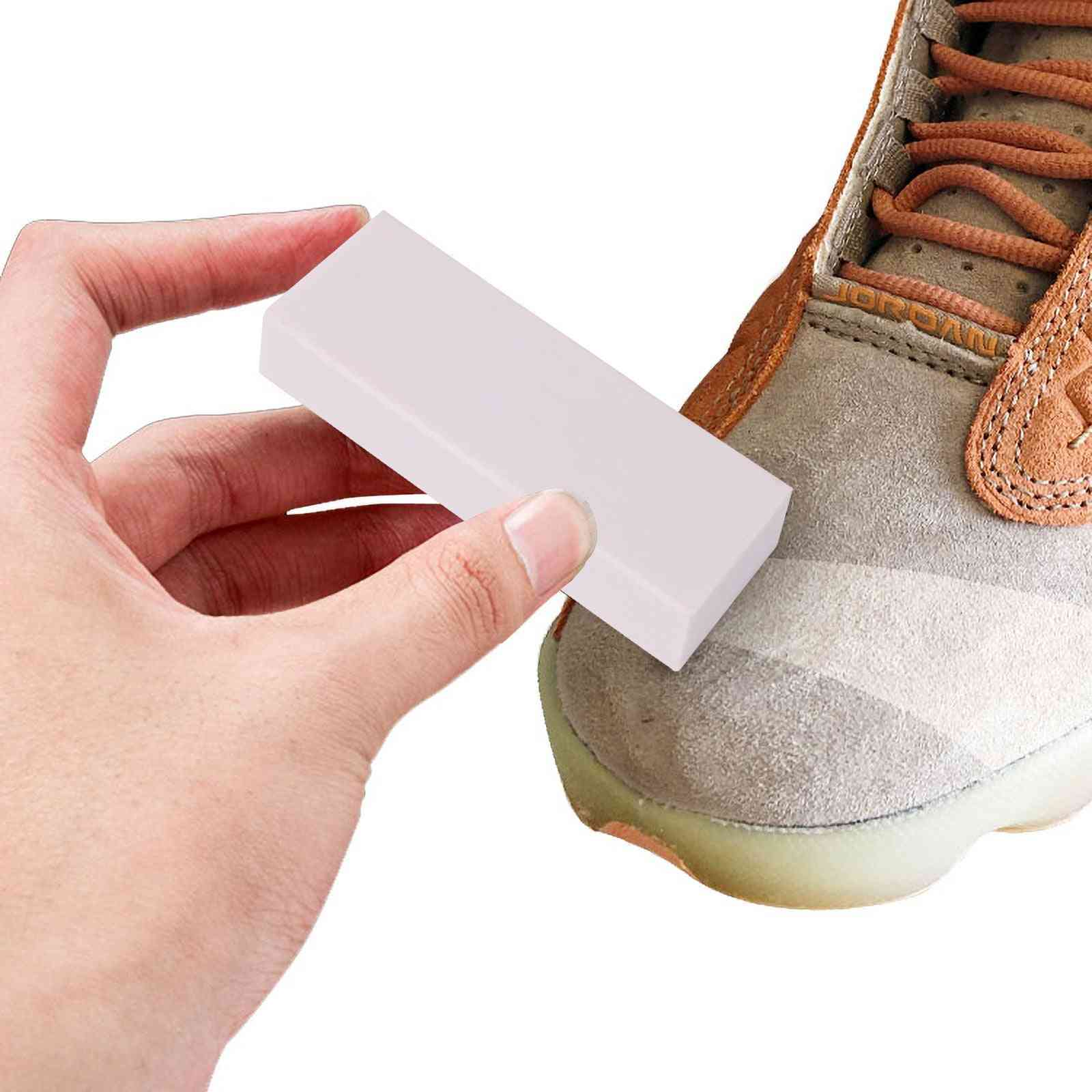 Shoe Cleaning Eraser, Suede Sheepskin, Matte Care, Leather Fabric Brush