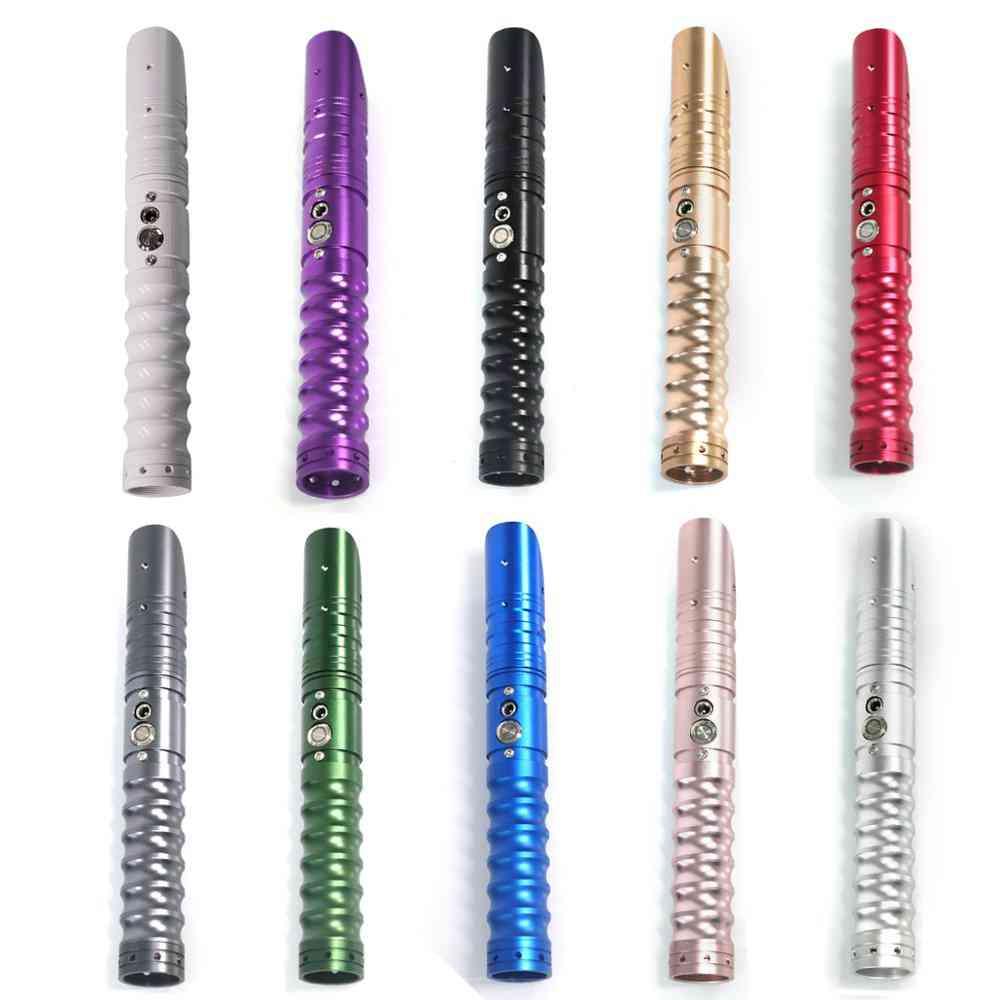 Lgt Rgb Metal Handle Sword Sound Jedi Luke Light Saber Force Fx Heavy Dueling Color Changing Foc Lock