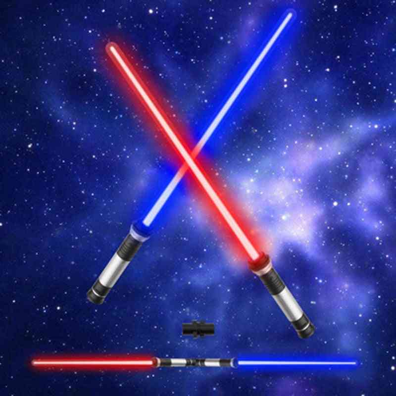 Flashing Laser Double Sword Light Saber Cosplay Sound For