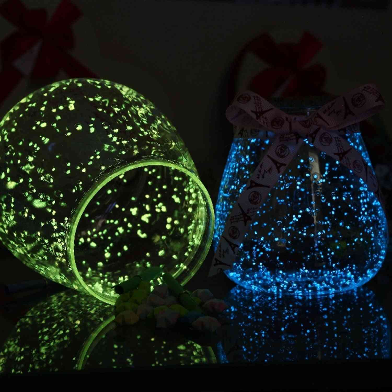 Luminous Noctilucent Sand Fish Tank, Glow In The Dark Pigment Powder