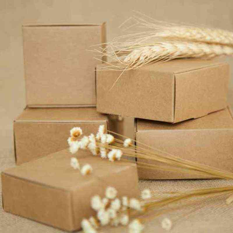 Kraft Paper Packing Box For Wedding/birthday