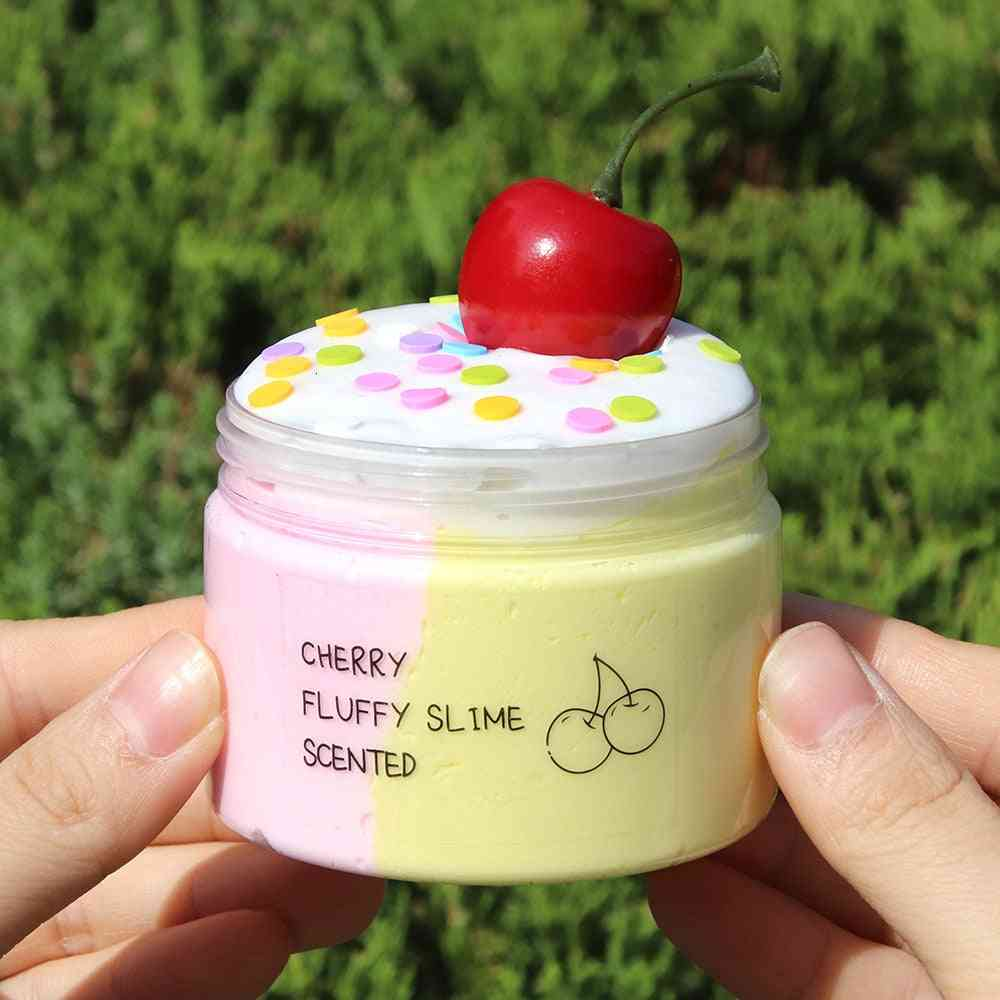 Cherry Slime Cotton Mud Hand-pulled Noodle Kit
