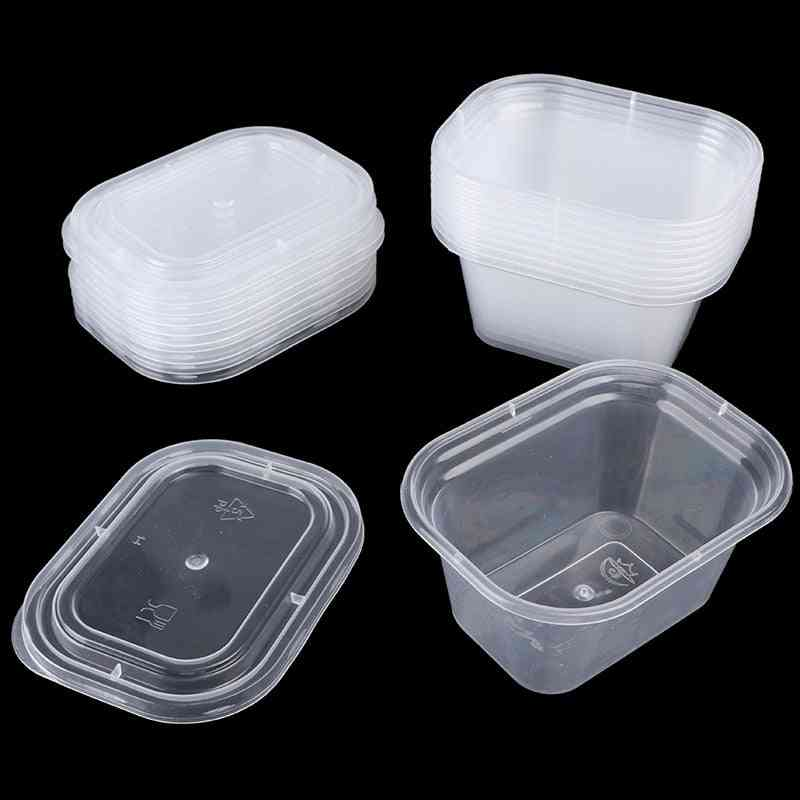 Slime Plasticine Clear Containers, Glue Putty Foam Ball Storage Boxes