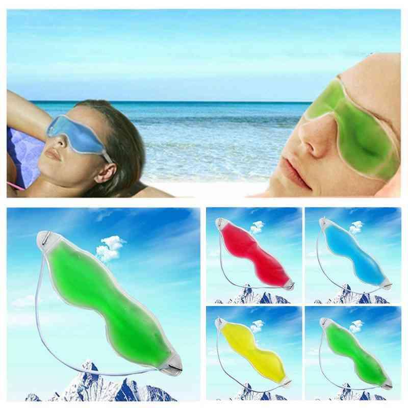 Summer- Essential Sleeping Eye Masks, Ice Gel Goggles