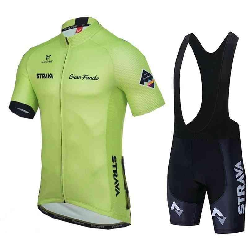 Summer- Racing Sport Bicycle, Short & Jersey Set Set-2